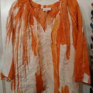 Calvin Klein blouse.